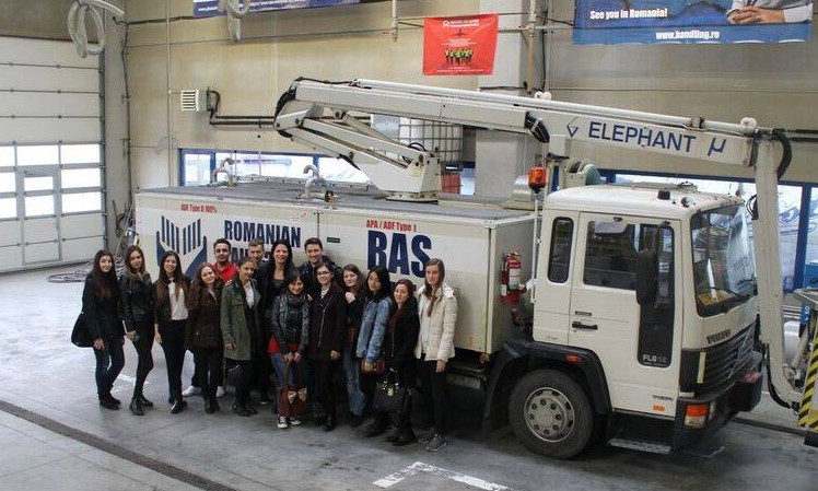 Visit to RAS - March 2016