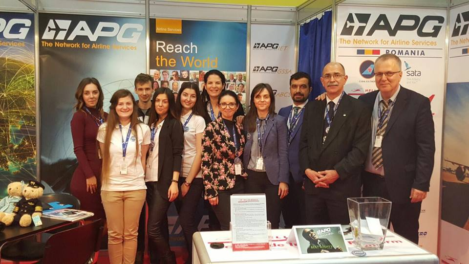 Volunteers for APG Romania at the Romanian Tourism Fair 2016